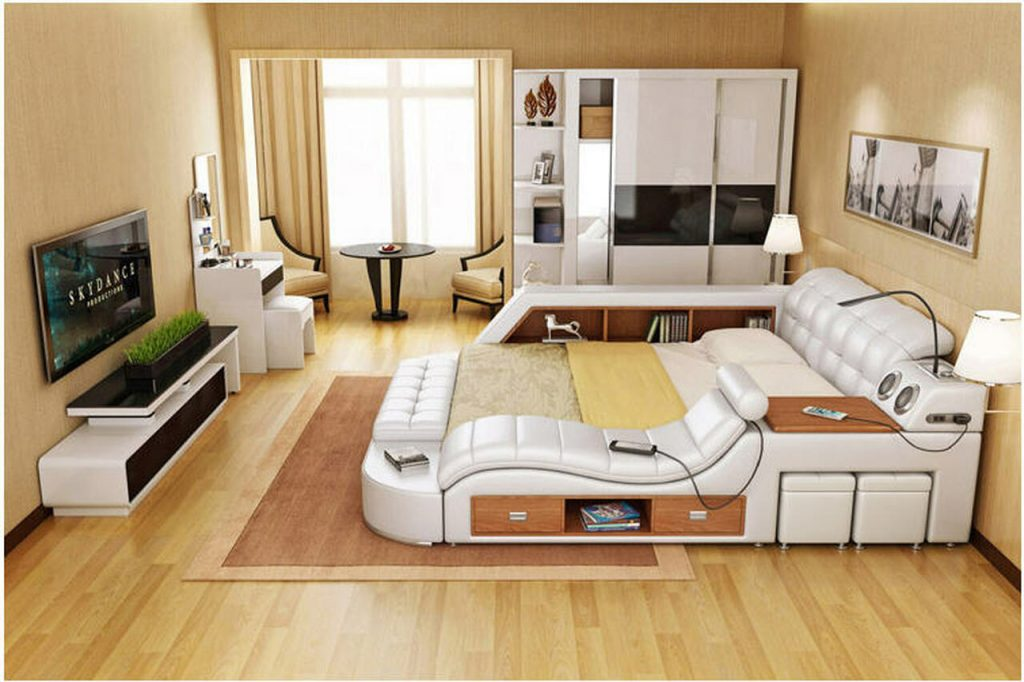 queen size bed frames at B2C Furniture