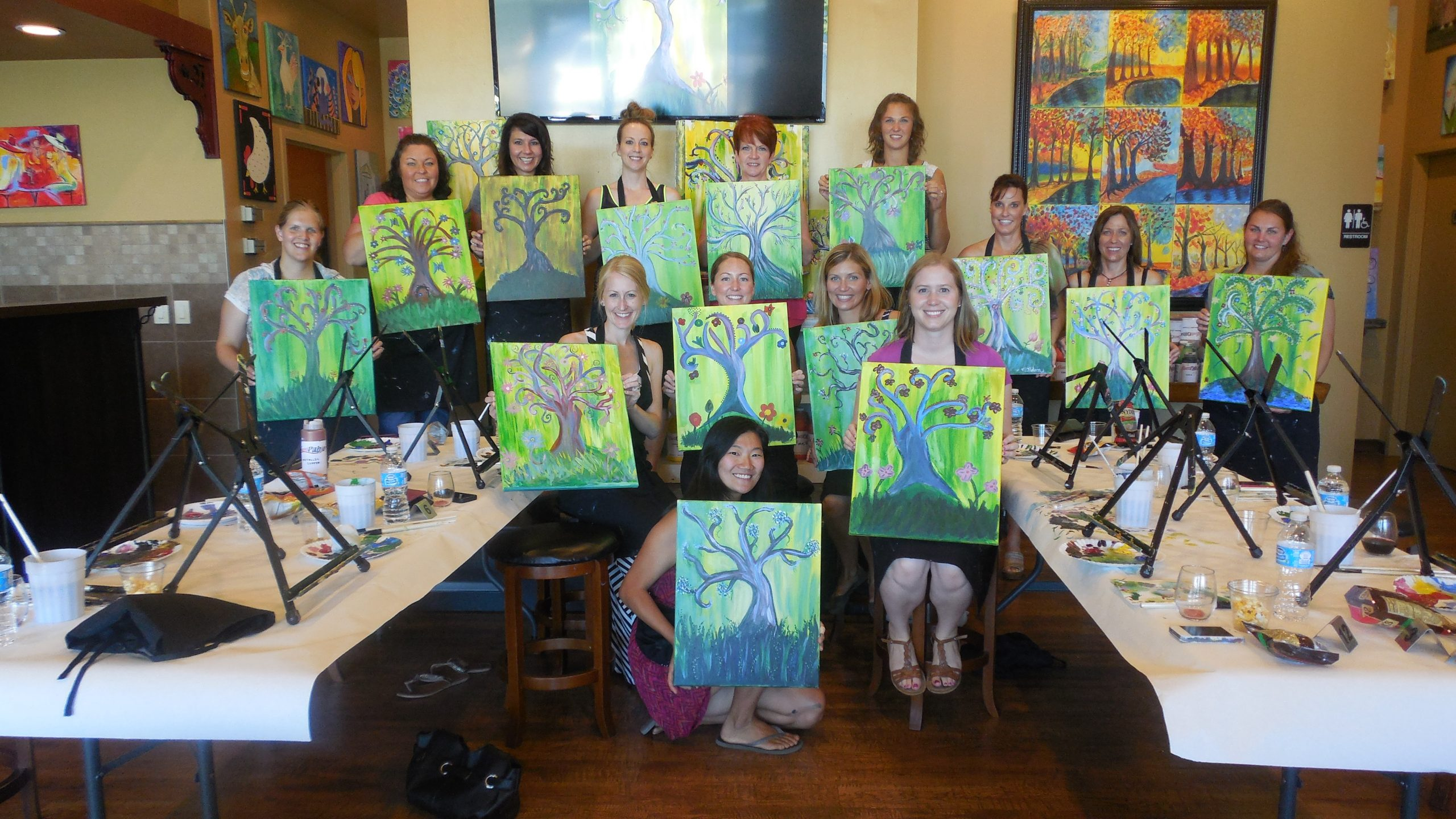 Attending Painting Classes